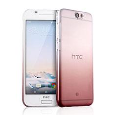 Coque Transparente Rigide Degrade pour HTC One A9 Rose