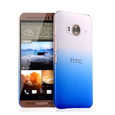 Coque Transparente Rigide Degrade pour HTC One Me Bleu