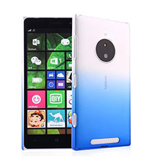 Coque Transparente Rigide Degrade pour Nokia Lumia 830 Bleu