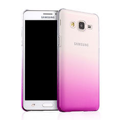 Coque Transparente Rigide Degrade pour Samsung Galaxy On5 G550FY Rose