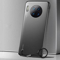 Coque Ultra Fine Mat Rigide Housse Etui Transparente pour Huawei Mate 30 5G Noir