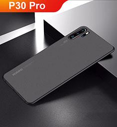 Coque Ultra Fine Mat Rigide Housse Etui Transparente pour Huawei P30 Pro Noir