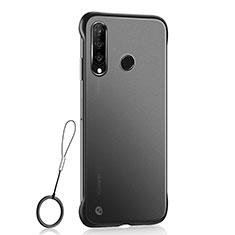 Coque Ultra Fine Plastique Rigide Etui Housse Transparente H05 pour Huawei P30 Lite New Edition Noir