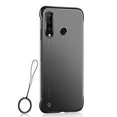 Coque Ultra Fine Plastique Rigide Etui Housse Transparente H05 pour Huawei P30 Lite Noir