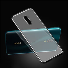 Coque Ultra Fine Plastique Rigide Etui Housse Transparente pour Oppo Realme X Noir