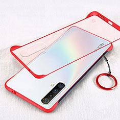 Coque Ultra Fine Plastique Rigide Etui Housse Transparente pour Realme X3 SuperZoom Rouge