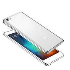 Coque Ultra Fine Plastique Rigide Etui Housse Transparente pour Xiaomi Mi Note Argent