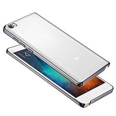 Coque Ultra Fine Plastique Rigide Etui Housse Transparente pour Xiaomi Mi Note Gris