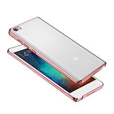 Coque Ultra Fine Plastique Rigide Etui Housse Transparente pour Xiaomi Mi Note Or Rose