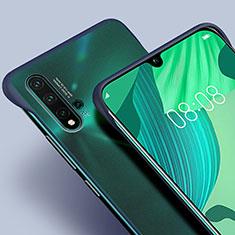 Coque Ultra Fine Plastique Rigide Etui Housse Transparente U01 pour Huawei Nova 5 Pro Bleu
