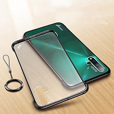 Coque Ultra Fine Plastique Rigide Etui Housse Transparente U01 pour Huawei Nova 5 Pro Noir