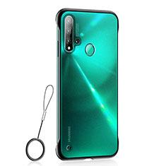 Coque Ultra Fine Plastique Rigide Etui Housse Transparente U01 pour Huawei P20 Lite (2019) Noir
