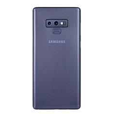 Coque Ultra Fine Plastique Rigide Etui Housse Transparente U01 pour Samsung Galaxy Note 9 Bleu