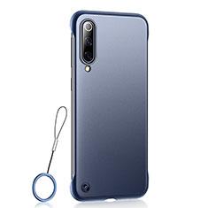 Coque Ultra Fine Plastique Rigide Etui Housse Transparente U01 pour Xiaomi CC9e Bleu