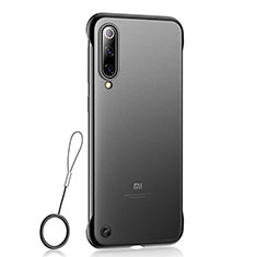 Coque Ultra Fine Plastique Rigide Etui Housse Transparente U01 pour Xiaomi Mi 9 SE Noir