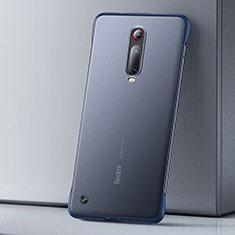 Coque Ultra Fine Plastique Rigide Etui Housse Transparente U01 pour Xiaomi Mi 9T Pro Bleu