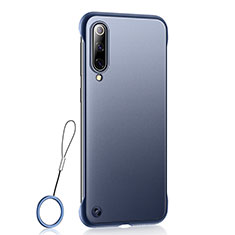 Coque Ultra Fine Plastique Rigide Etui Housse Transparente U01 pour Xiaomi Mi A3 Bleu
