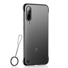 Coque Ultra Fine Plastique Rigide Etui Housse Transparente U01 pour Xiaomi Mi A3 Lite Noir