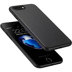 Coque Ultra Fine Plastique Rigide pour Apple iPhone 8 Plus Noir