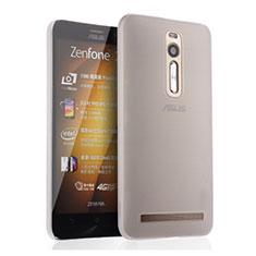 Coque Ultra Fine Plastique Rigide Transparente pour Asus Zenfone 2 ZE551ML ZE550ML Blanc
