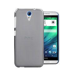 Coque Ultra Fine Plastique Rigide Transparente pour HTC Desire 620 Gris
