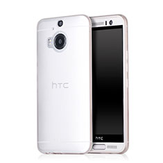 Coque Ultra Fine Plastique Rigide Transparente pour HTC One M9 Plus Blanc