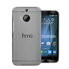 Coque Ultra Fine Plastique Rigide Transparente pour HTC One M9 Plus Gris