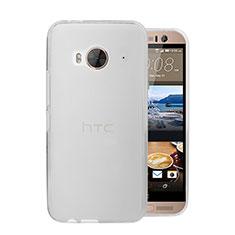 Coque Ultra Fine Plastique Rigide Transparente pour HTC One Me Blanc