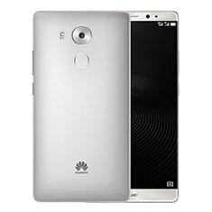 Coque Ultra Fine Plastique Rigide Transparente pour Huawei Mate 8 Gris