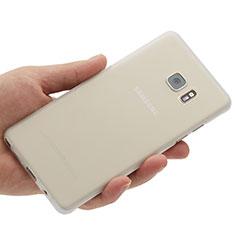 Coque Ultra Fine Plastique Rigide Transparente pour Samsung Galaxy Note 7 Blanc