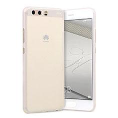 Coque Ultra Fine Plastique Rigide Transparente T01 pour Huawei P10 Plus Clair