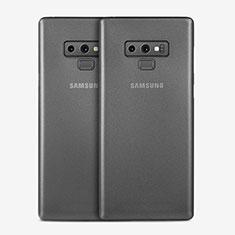 Coque Ultra Fine Plastique Rigide Transparente T01 pour Samsung Galaxy Note 9 Gris