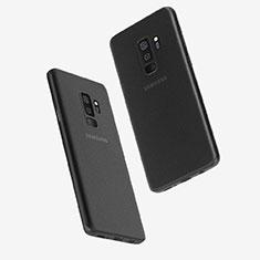 Coque Ultra Fine Plastique Rigide Transparente T01 pour Samsung Galaxy S9 Plus Noir