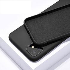Coque Ultra Fine Silicone Souple 360 Degres Housse Etui C01 pour Apple iPhone 11 Noir