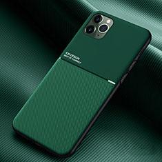 Coque Ultra Fine Silicone Souple 360 Degres Housse Etui C01 pour Apple iPhone 11 Pro Vert
