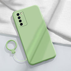 Coque Ultra Fine Silicone Souple 360 Degres Housse Etui C01 pour Huawei Honor Play4 5G Pastel Vert