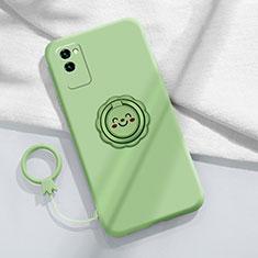 Coque Ultra Fine Silicone Souple 360 Degres Housse Etui C01 pour Huawei Honor Play4 Pro 5G Pastel Vert