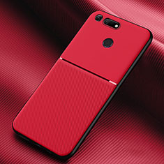 Coque Ultra Fine Silicone Souple 360 Degres Housse Etui C01 pour Huawei Honor View 20 Rouge