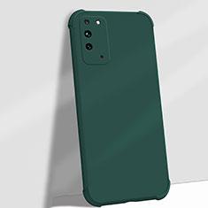 Coque Ultra Fine Silicone Souple 360 Degres Housse Etui C01 pour Huawei Honor X10 5G Vert