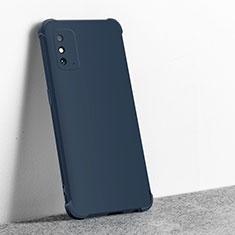 Coque Ultra Fine Silicone Souple 360 Degres Housse Etui C01 pour Huawei Honor X10 Max 5G Bleu Royal