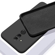 Coque Ultra Fine Silicone Souple 360 Degres Housse Etui C01 pour Huawei Mate 20 Lite Noir