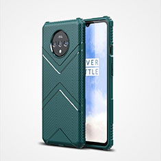Coque Ultra Fine Silicone Souple 360 Degres Housse Etui C01 pour OnePlus 7T Vert