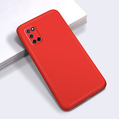 Coque Ultra Fine Silicone Souple 360 Degres Housse Etui C01 pour Oppo A52 Rouge
