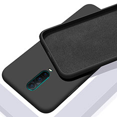 Coque Ultra Fine Silicone Souple 360 Degres Housse Etui C01 pour Oppo R17 Pro Noir