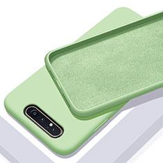 Coque Ultra Fine Silicone Souple 360 Degres Housse Etui C01 pour Samsung Galaxy A90 4G Vert