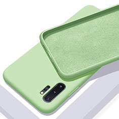 Coque Ultra Fine Silicone Souple 360 Degres Housse Etui C01 pour Samsung Galaxy Note 10 Plus 5G Vert