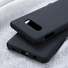 Coque Ultra Fine Silicone Souple 360 Degres Housse Etui C01 pour Samsung Galaxy S10e Noir