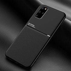 Coque Ultra Fine Silicone Souple 360 Degres Housse Etui C01 pour Samsung Galaxy S20 Plus Noir