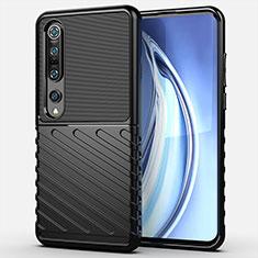 Coque Ultra Fine Silicone Souple 360 Degres Housse Etui C01 pour Xiaomi Mi 10 Pro Noir