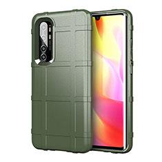 Coque Ultra Fine Silicone Souple 360 Degres Housse Etui C01 pour Xiaomi Mi Note 10 Lite Vert
